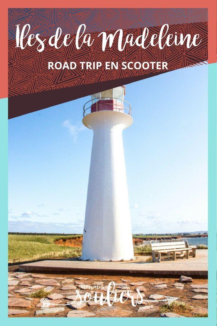 Road trip aux Îles de la Madeleine: le plus bel archipel d'îles au Canada! C'est le moment de voyager au Québec et de découvrir ce beau coin de pays à scooter!