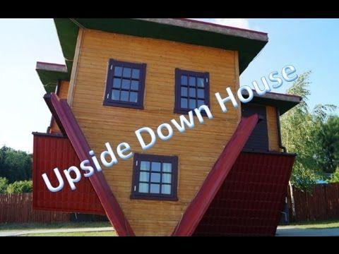 Upside Down House, Blue Orange, Zator Poland