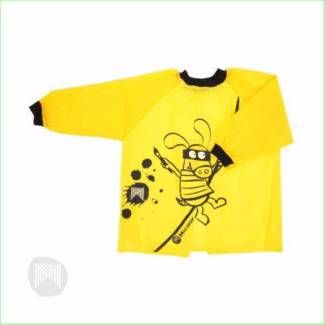 Art Smock Micador Kids Cover Up NEW Yellow | Toys - Indoor  Buy Kids #toys Online From Green Ant Toys Online #toyshop www.greenanttoys.com.au