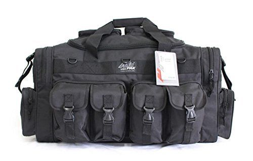 Tactical Duffle Military Molle Gear Shoulder Strap Range Bag Perfect as a carry-on bag for outdoor activity!Perfect as a carry-on bag for outdoor activity!Multiple MOLLE style straps, #10 Heavy-duty zipper600HD High-Density Polyester with PVC water resistant lining  bracelets, Earrings, Jewelry, necklaces, pendants, Rings