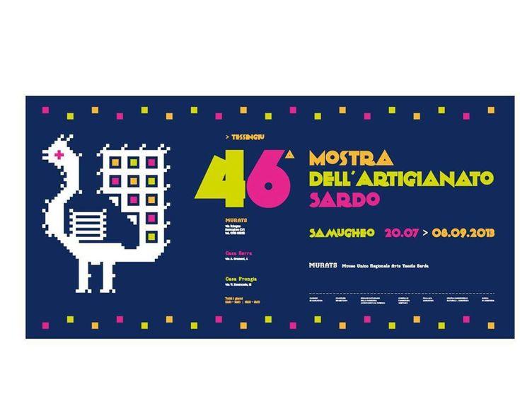 46° MOSTRA DELL'ARTIGIANATO SARDO – SAMUGHEO – 20 LUGLIO – 8 SETTEMBRE 2013