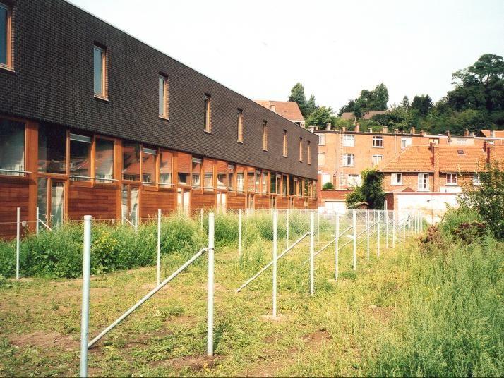 WIT architecten Sociale huisvesting la vignette Leuven