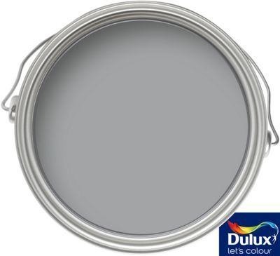 Dulux Standard Warm Pewter - Silk Emulsion Paint - 2.5L