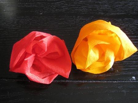 fleur en crepon