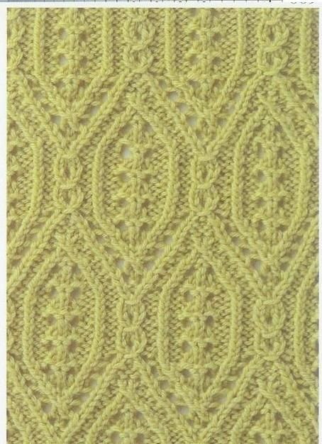Lace Knitting Stitch #17 | Lace Knitting Stitches