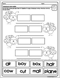 1000 images about compound words on pinterest anchor charts emergent readers and literacy. Black Bedroom Furniture Sets. Home Design Ideas