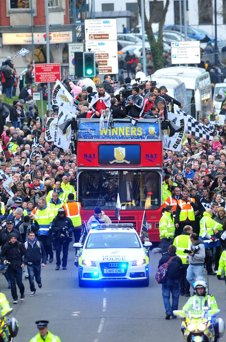 Swansea City Capitol One Cup victory parade I think I was working on this day so missed the parade boohoo!