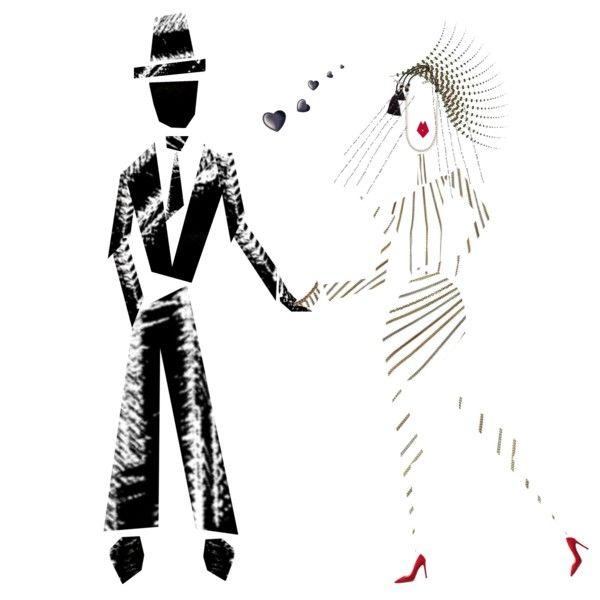 A wedding caricature invitation Outfit Idea 2017