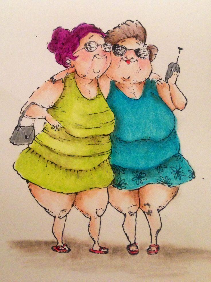 Маргарита смешные, смешные картинки про бабушек подружек