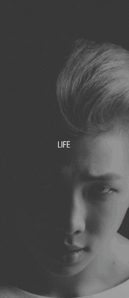 """B T S   Okay, so """"Life"""" in my opinion wasn't the most catchy song I've heard from BTS. But I kinda like the somber vibe in the song <3"""