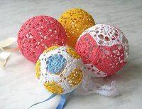 Вязаный шар. / Вязание крючком / Вязание крючком для начинающих