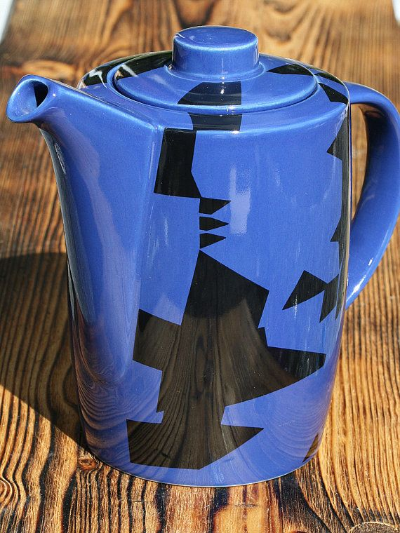 Coffee pot with lid, Arabia Domino Combo Finland