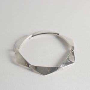 Silver bracelet from Hans Hansen, Denmark, 1950s