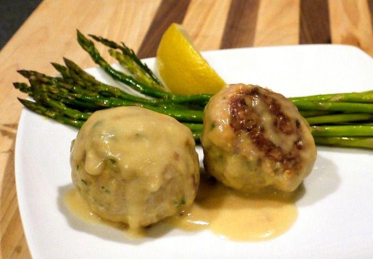 Chicken Cordon Bleu Meatballs fromt he SkinnyTaste Cookbook | The Good Hearted Woman