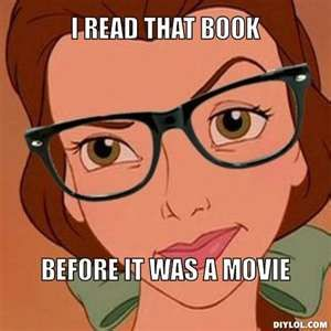 Hipster Belle... Seriously though...