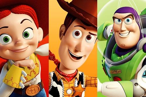Toy Story - Jessie, Woody and Buzz Lightyear