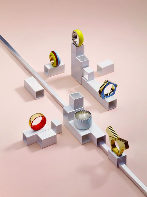 samhofman:  NILPLUG rings for Wallpaper* in October issue. Set...