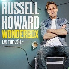 RUSSELL HOWARD to open his Wonderbox for 2014 UK tour. Its good news all the way as the comedian and TV star announces his latest show, tickets on sale now, from £27.50 --> http://www.allgigs.co.uk/view/article/6412/Russell_Howard_To_Open_His_Wonderbox_For_2014_UK_Tour.html