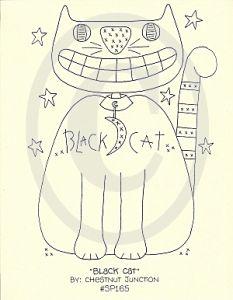Black Cat Pattern...
