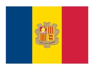 Andorra Flag Tattoo #flags #andoraflag #temporarytattoos #t4aw