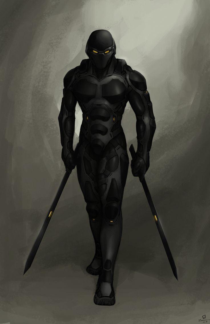 Cyber-ninja commission...