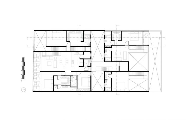 Tabasco 127 / JSa: Graphics Expressions, Housing Living Work, Jsa 252545, Tabasco 127, Case May, House Living Work, Living Work House, Architecture, Жилые Дома