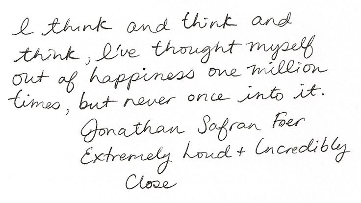 Extremely Loud and Incredibly Close Quotes