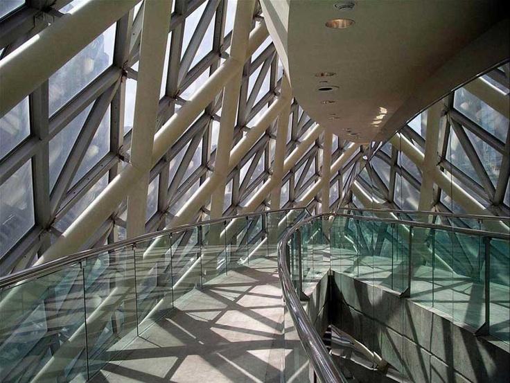 Roy Thomson Hall Upper Lobby Toronto Ontario Canada By Arthur Erickson
