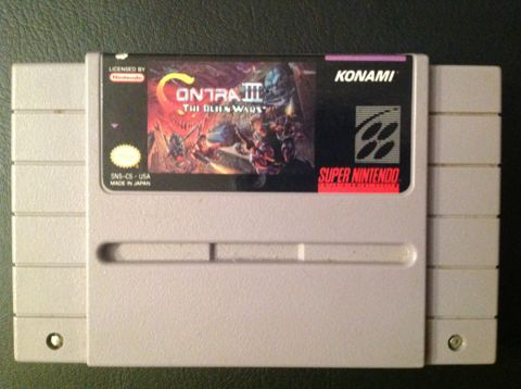 Contra 3 (USA) Super Nintendo Game. – Obsolete Gaming