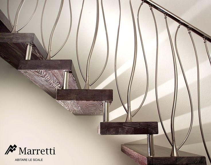 Oltre 25 fantastiche idee su ringhiere delle scale in for Planimetrie delle scale curve