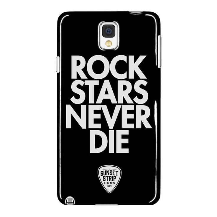 Rockstars Never Die - Samsung Galaxy Note 4 Phone Case