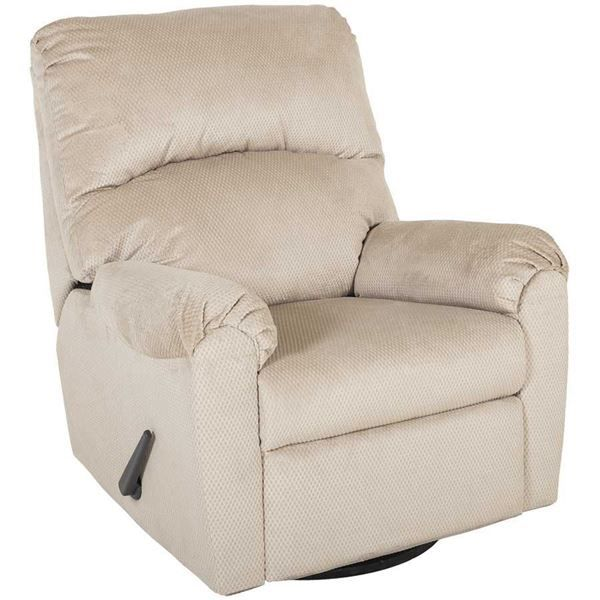 Bronwyn Sand Swivel Glider Recliner by Ashley Furniture is now available at American Furniture Warehouse. Shop our great selection and save!