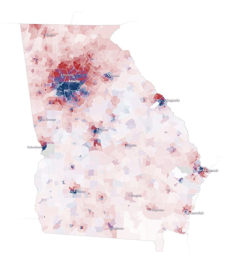 The Most Detailed Maps You'll See From the Midterm Senate Elections - The New York Times