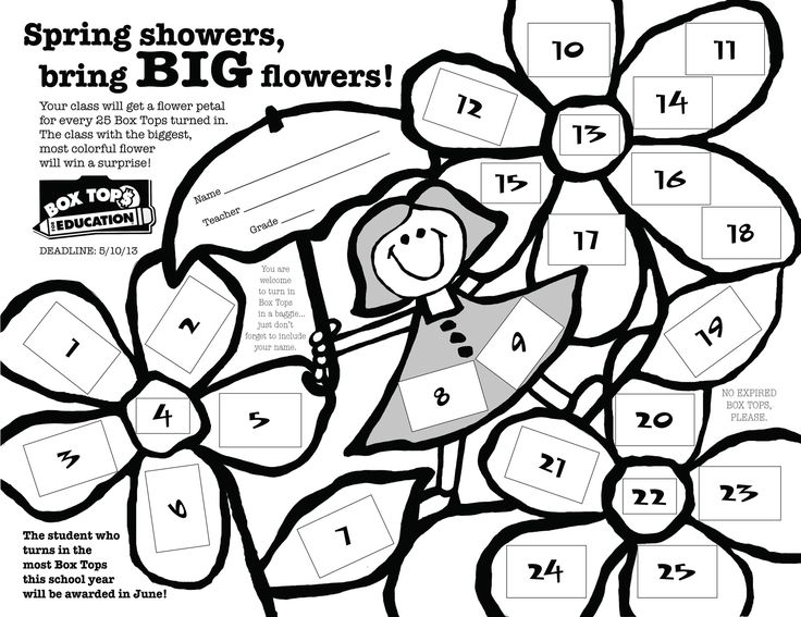 Ideas to collect Box Tops at your child's school!