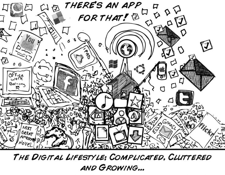 The ability to quickly access information is rapidly growing. It is meant to be more efficient, but is it really? We are bombarded with an abundance of information, when will the clutter become too much?