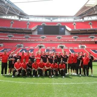 Cheltenham Town FC at Wembley.