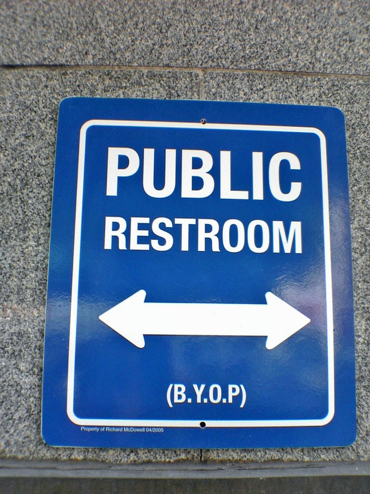 Bathroom Signs California 8 best bathroom signs images on pinterest | bathroom signs