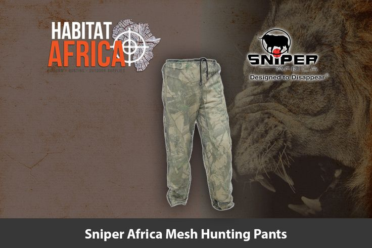 The Sniper Africa mesh hunting pants is specifically designed to offer the…
