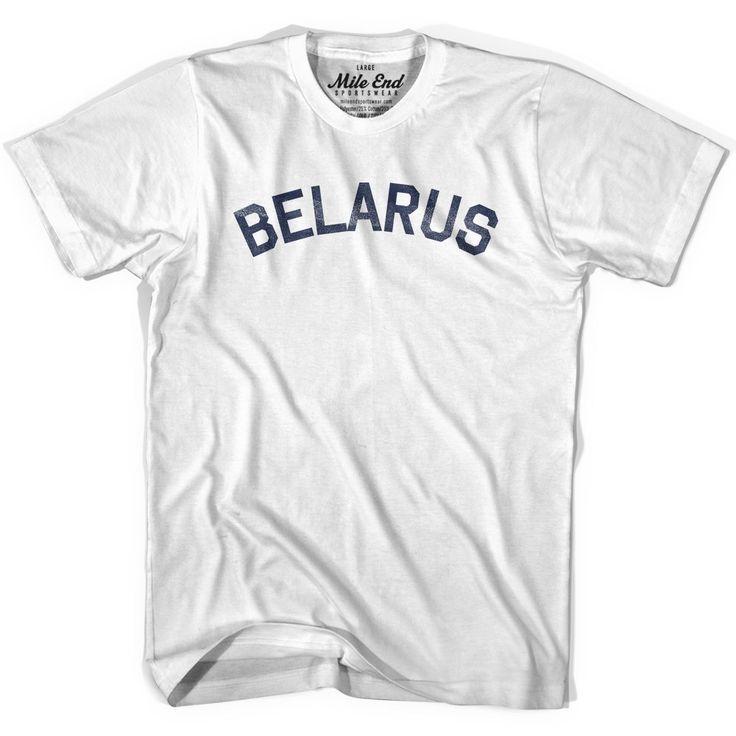 Belarus City Vintage T-shirt