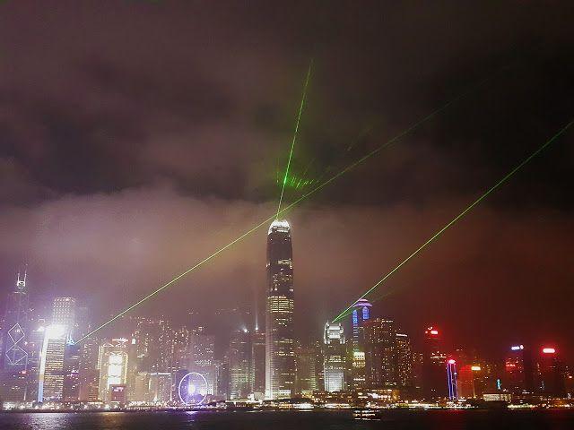"Hong Kong Harbour City ""Symphony of Light"""
