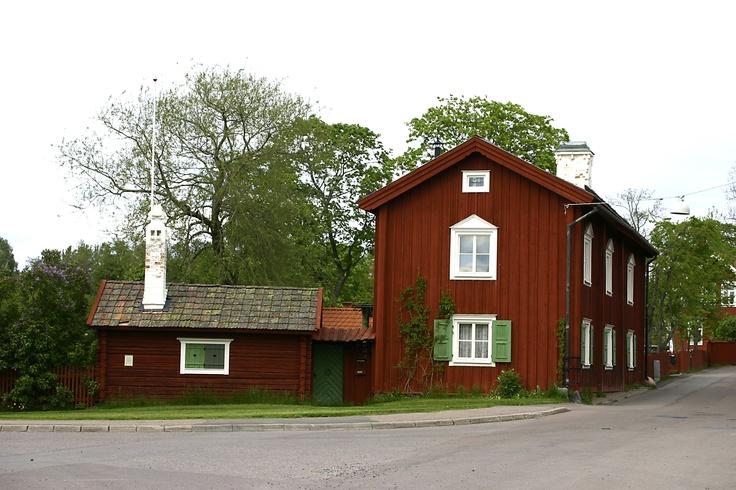 Säters centrala delar är en av landets bäst bevarade trästäder.