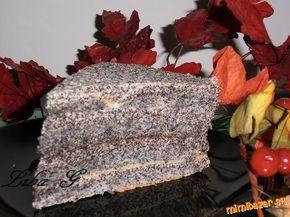 Makový dort bez mouky pro milovníky máku