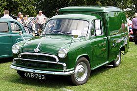 Morris Oxford III Van.