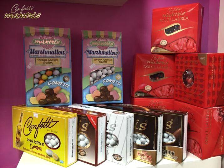 #confettimaxtris #confetti #maxtris #cioccolato #chocolate #sweet #mandorla #almonds #marshmallows