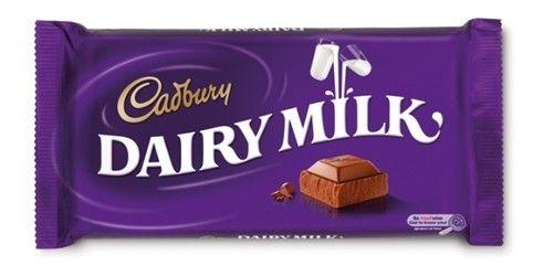Cadbury Dairy Milk  Description: Cadbury Dairy Milk is bereid met verse melk van de Britse eilanden en Fair Trade cacaobonen. Deze heerlijke chocoladereep van Cadbury behoort tot de beste chocolade onder de Britse merken! (110gr)   Price: 2.25  Meer informatie  #Jamin