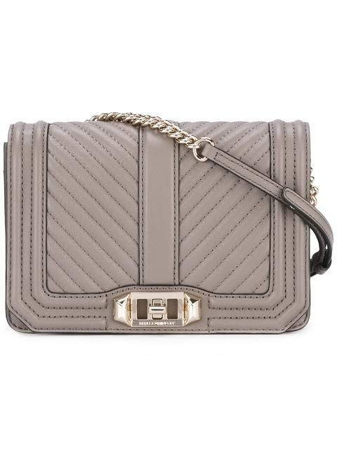 REBECCA MINKOFF quilted tote. #rebeccaminkoff #bags #leather #hand bags #tote #
