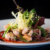 Calamar à la plancha, chorizo et piments d'Espelette - une recette Plancha d'été - Cuisine