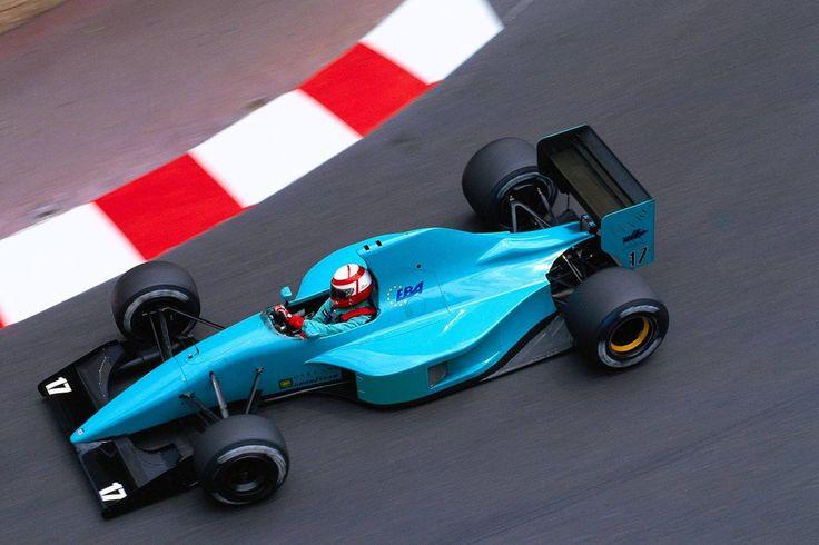 Paul Belmondo (Monaco 1992) by F1-history.deviantart.com on @deviantART