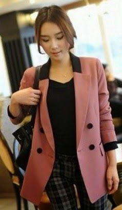 Blazer Korean Style Murah Untuk Wanita Pria