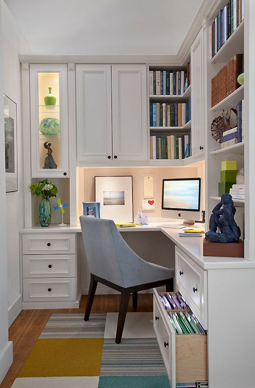 L Shaped Desk For Small Spaces